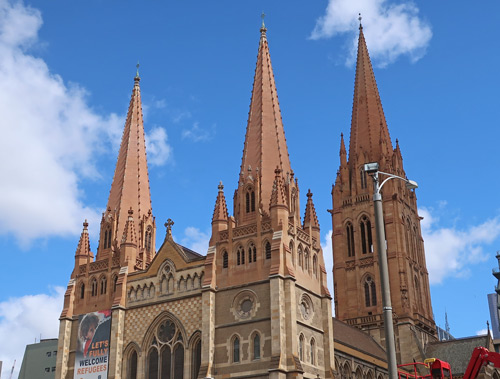 St. Paul's Cathedral, Melbourne Australia